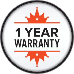 Exclusive 1yearwarranty